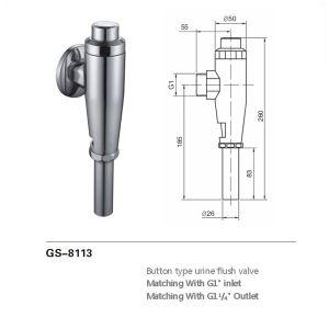 Toiletten-bündigeres Ventil (8106B)