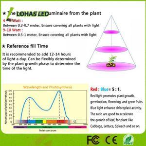 La barre changeante Rouge-Bleu-Violette 12W 13.5W d'éclairage LED de 3 couleurs élèvent le tube léger pour la centrale