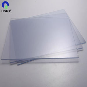 0,21 mm-5mm Impression UV feuille transparente en plastique PVC rigide