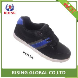 Оптовая торговля удобная новая конструкция мужчин провод фиолетового цвета кожи рабочая повседневная обувь