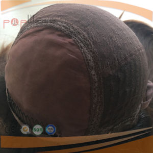 新しい到着の完全なバージンの毛の絹の上のかつら