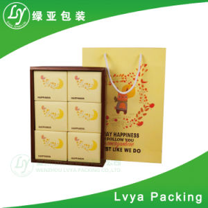 Impresión de papel corrugado cartón Cake Box