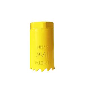 il foro bimetallico della lamierina dell'acciaio rapido (HSS) di M3 del diametro di 27mm ha veduto