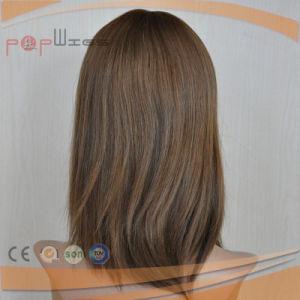 ブラジルのバージンの毛の完全なHandtiedのレースのかつら(PPG-l-0103)