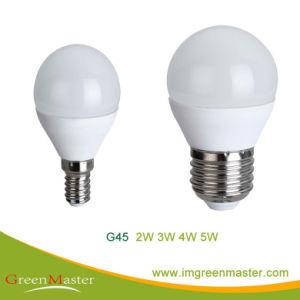 G45 Lâmpada LED de alumínio de plástico
