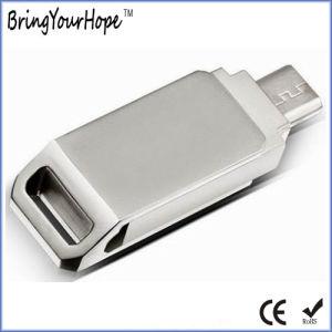 旋回装置OTG 2.0 3.0 3.1の金属USBのフラッシュ駆動機構(XH-USB-180)