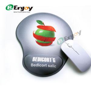 O logotipo personalizado Mouse pad Gel impresso com o punho restante