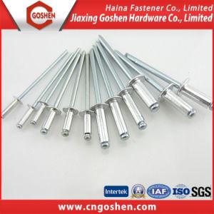 Haute qualité en aluminium solide en acier à tête plate Rivet