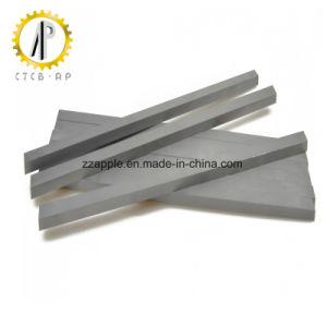 Tiras de carboneto de tungstênio para ferramentas de corte de madeira