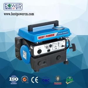 precio de fábrica de 650W africanos Tigre portátil pequeña generador de gasolina de 950