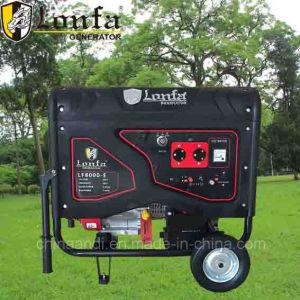 15 CV 6.5kVA pequeño 220V AC generador de gasolina eléctrica