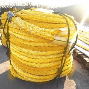 Haute qualité de 12 Strand UHMWPE couverts au large des côtes de la corde de polyester/nylon polyester /PP /Corde d'amarrage corde Marine
