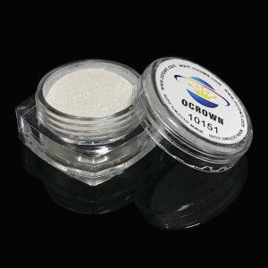 10151 Silvery белый яркий блеск Pearl пигмента слюда порошок для автомобильной краской