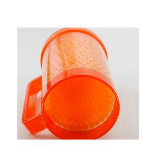 Tazza doppia di plastica di vendita calda del congelatore della birra del gel