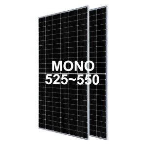 Mono 525W 530W 535W 540W 545W 550W 144 Metade cortar células 182mm painel solar fotovoltaico Perc Module
