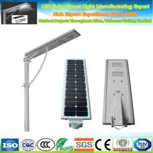 Projecto de auto-estrada exterior LiFePO4 Bateria do sensor PI65 Luz de Rua LED Solar Automático