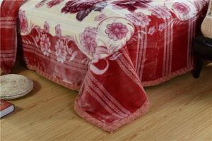 Coperta polare stampata rotativa 100% del panno morbido di corsa del poliestere