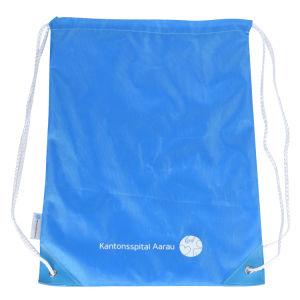 Il sacchetto promozionale del poliestere, il sacchetto di Drawstring 210d, il sacchetto del regalo, il sacchetto di sport, sfera di spiaggia, calza il sacchetto