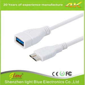 熱い販売の白いカラーマイクロUSB 3.0 OTGケーブル