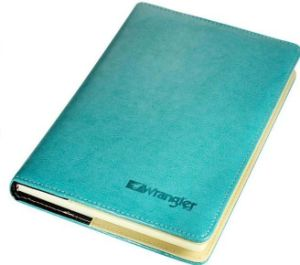 Couro PU Eco-Friendly capa dura Impressão portátil