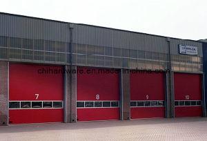 Вид в поперечном разрезе промышленности двери/промышленных двери и двери склада/автоматические двери