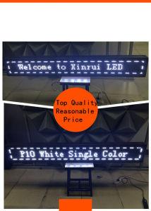 Het openlucht Enige Scherm van de Module van het Scherm van de Kleur P10 Witte voor het Winkelen Gids