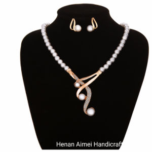 Poignée de commande Bijoux set Costume mariage ensemble collier et boucles d'oreilles