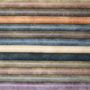 Высокая Abrasion-Resistant искусственного PU кожа для диван мебель и обувь