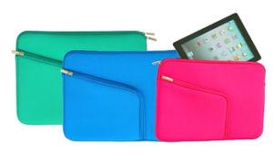 Usine de bonne qualité Wolesales Ordinateur portable/tablette sac iPad/manchon avec attache