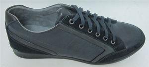 Encaje hasta Mens zapatos de cuero