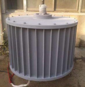 AC 380V 50kw 80tr/min générateur à aimant permanent