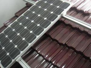 Montaggio solare del tetto