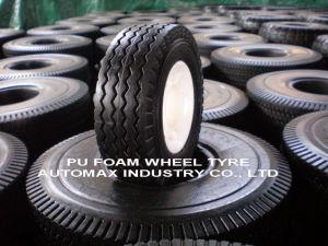 きっかり自由な固体ポリウレタン手押し車のタイヤ