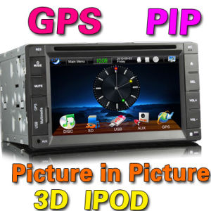6.2 2 DIN HD DVD плеер Sat Nav iPod ПСП (ES852G)