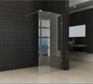 Nano fácil limpiar el cuarto de baño sin cerco Cristal mampara de ...