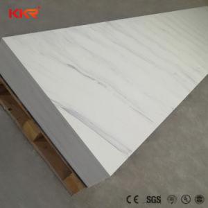 Künstlicher SteinKingkonree Gletscher-weiße feste weiße feste Oberflächenacrylsaueroberflächenplatte