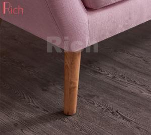 La vie moderne salle utilisée à ossature de bois tissu Loisirs canapé