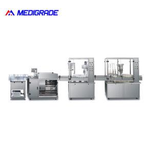 (50-1000ml) Volume de alta qualidade linha compacta de infusões de Volume de Enchimento de lavar roupa máquina de pacote de nivelamento