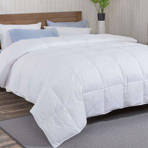 低刺激性の極度の柔らかい400tcホテルの寝具の白いガチョウの慰める人