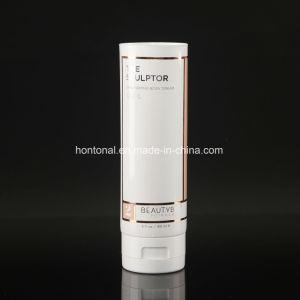 180ml raffermissement de la peau du corps en plastique de couleur blanc crème cosmétique des tubes d'emballage