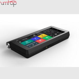 3G/4G des Auto-DVR Auto-LKW GPS-NavigationAndroid 5.0 Gedankenstrich-der Kamera-6.86  GPS-Nautiker FHD 1080P verdoppeln Objektiv-Fahrzeug GPS-Karten