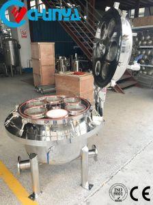 Alta custodia di filtro dell'acqua dell'acciaio inossidabile di portata