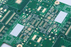 Circuit imprimé avec l'air chaud (Mise à niveau de soudure OLDQ-17)