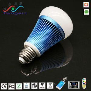 지능적인 LED WiFi 전구 램프를 점화하는 도매 에너지 절약 지능적인 숫돌