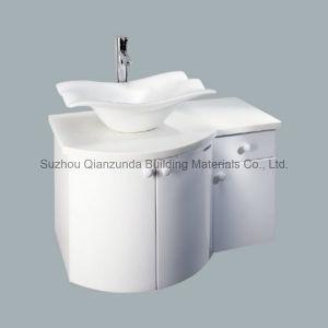 アクリルの固体表面の新しいデザインによってなされる自由で永続的な洗面器