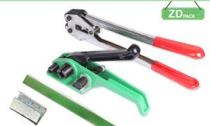 ツールのバンディングのテンショナーおよびカッターを紐で縛って、バックルは必要となる