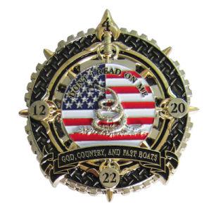 熱販売するカスタム昇進ビジネスギフトの安い金属記念するメダル硬貨(093)を