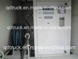 Dispensador de móviles de llenado del cilindro de carretilla, 12m3 de llenado del depósito de gas carretilla
