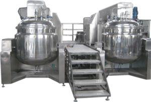 Sahnemischen, mischend, Wimperntusche, Schablonen-Mischmaschine-emulgierenhomogenisierer-Maschine
