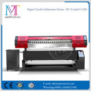 高速1.8mデジタルの大きいフォーマットファブリック印字機の織物プリンター